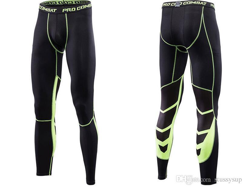2018 Leggings New Tights Compression Pants Jogger Pantalones Hombre SportTrousers Wicking Sportswear Pants Men Pants