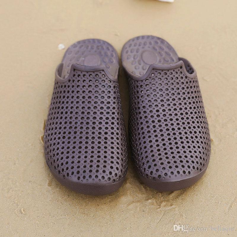 Sommer Hausschuhe Männer EVA Sandalen Rubber Pantoletten Kinder Sommer Kinderschuhe Beach Outdoor Schuhe atmungsaktiv Jungen Loch Schuhe Sandalen Hausschuhe