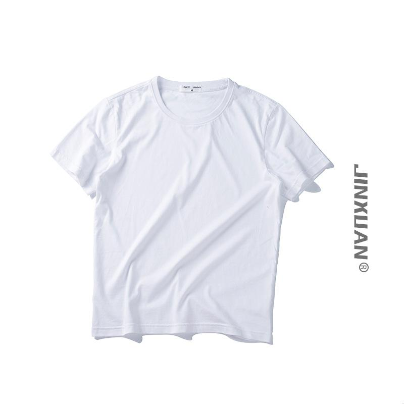 bdcc483d9156 Summer New Simple Cotton Short Sleeve T Shirt Men S Candy Color Wild Loose  Harajuku Man O Neck Solid Colour Short Sleeve Tops Online T Shirts Funky T  Shirts ...
