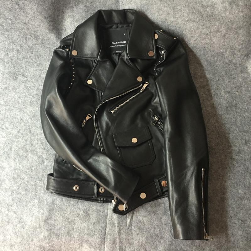 Haus & Garten Liefern Ftlzz Pu Leder Jacke Frauen Faux Leder Braun Schwarz Kurze Mantel Weibliche Elegante Bomber Jacke Biker Jacken