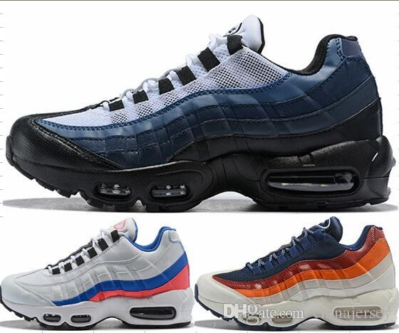 2019 2018 Very Popular Newset Color Mens Air Sports 95 Running Shoes Black  Men Athletic Walking Tennis Shoes Grey Man Training 36 46 Sneakers From ... a0366481e
