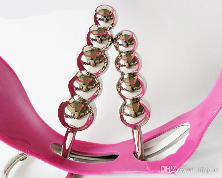 2018 femminile regolabile modello T femminile in acciaio inox rosa cintura di castità dispositivi con vagina e Butt Plug mutandine Bondage restrizioni Fet