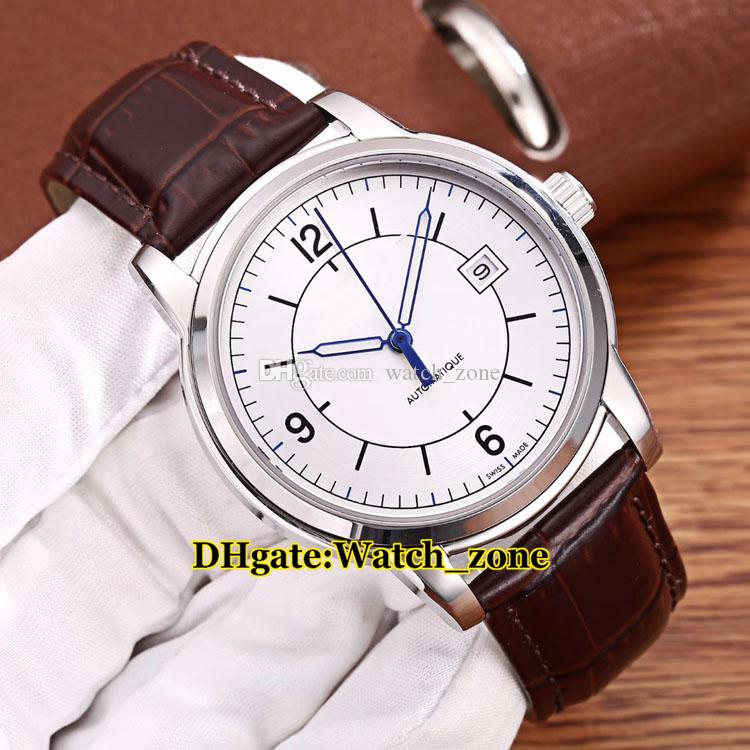 Brand New Master 1548530 White Dial Japan Miyota 821A Automatic Mens Watch Silver Case Sapphire Glass Luxury High Quality Q1548530 Watches