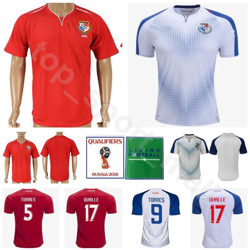 edb76988038 Men Panama Soccer Jersey 2018 World Cup Thai 6 GOMEZ 11 COOPER 9 ...
