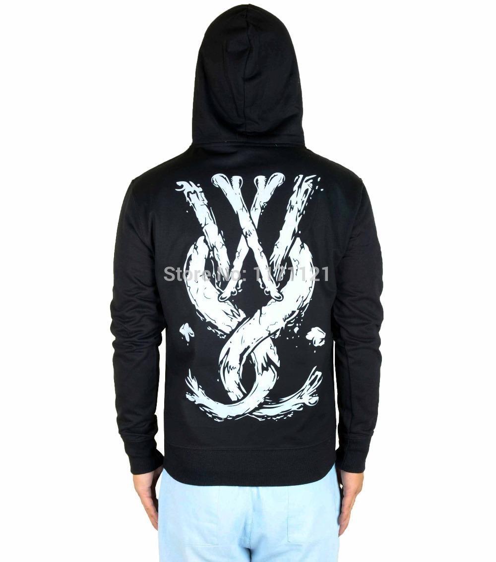 best authentic 815de 44e3f While She Sleeps WSS Logo New Officials Mens Black 100% Cotton Hoodie  Hoodies Sweatshirts Cheap ...