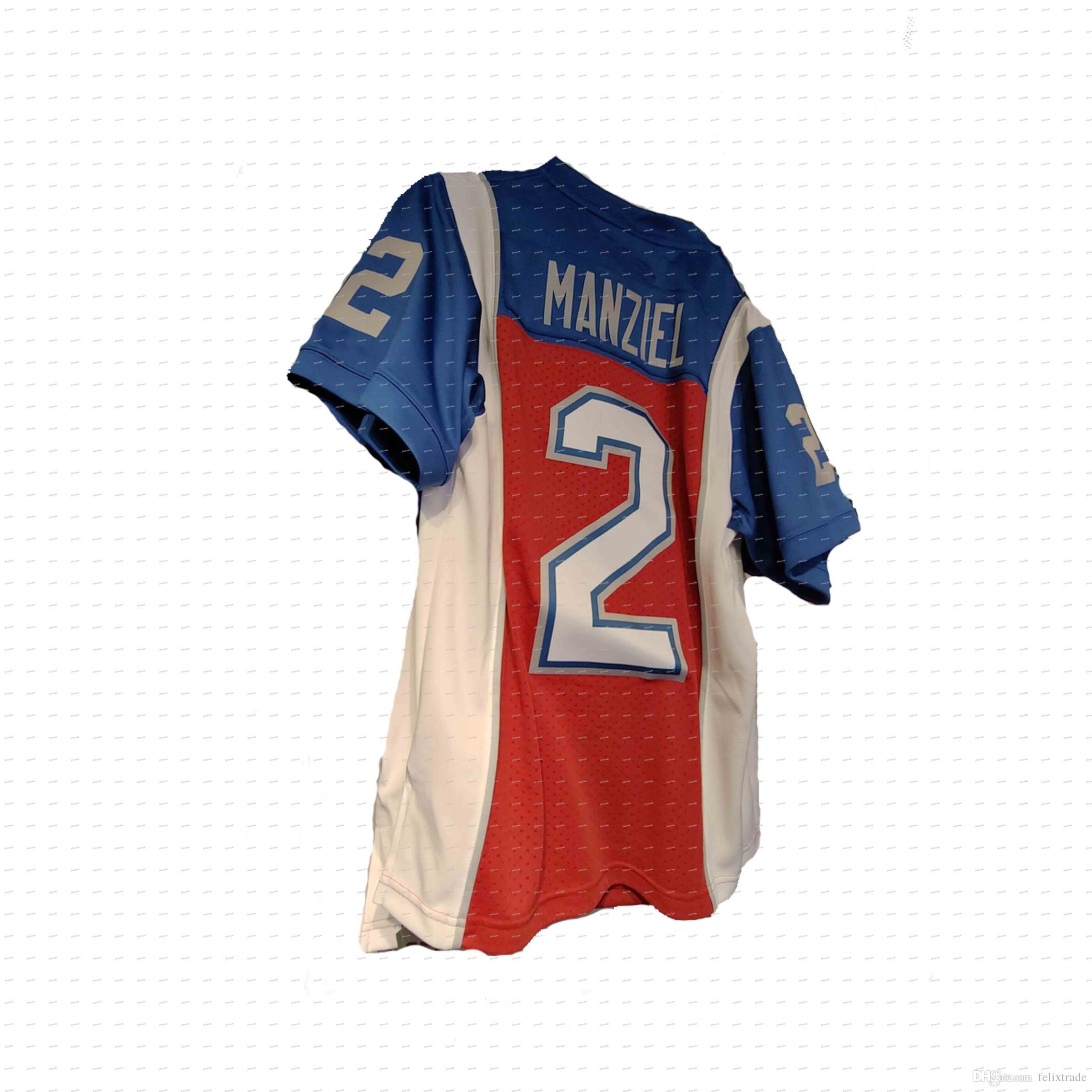 Johnny Manziel  2 Montreal Alouettes Football Jersey Double Stiched Name    Number For Men Women Youth Customizable UK 2019 From Felixtrade 592d52e429