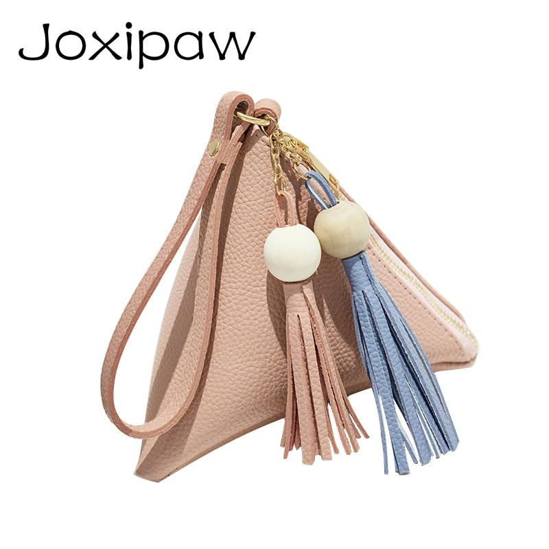 Mini e Women Clutch Purse Hand Bag Wristlets Strap Small Women Bag Lady Clutches Casual Phone Package Joxipaw