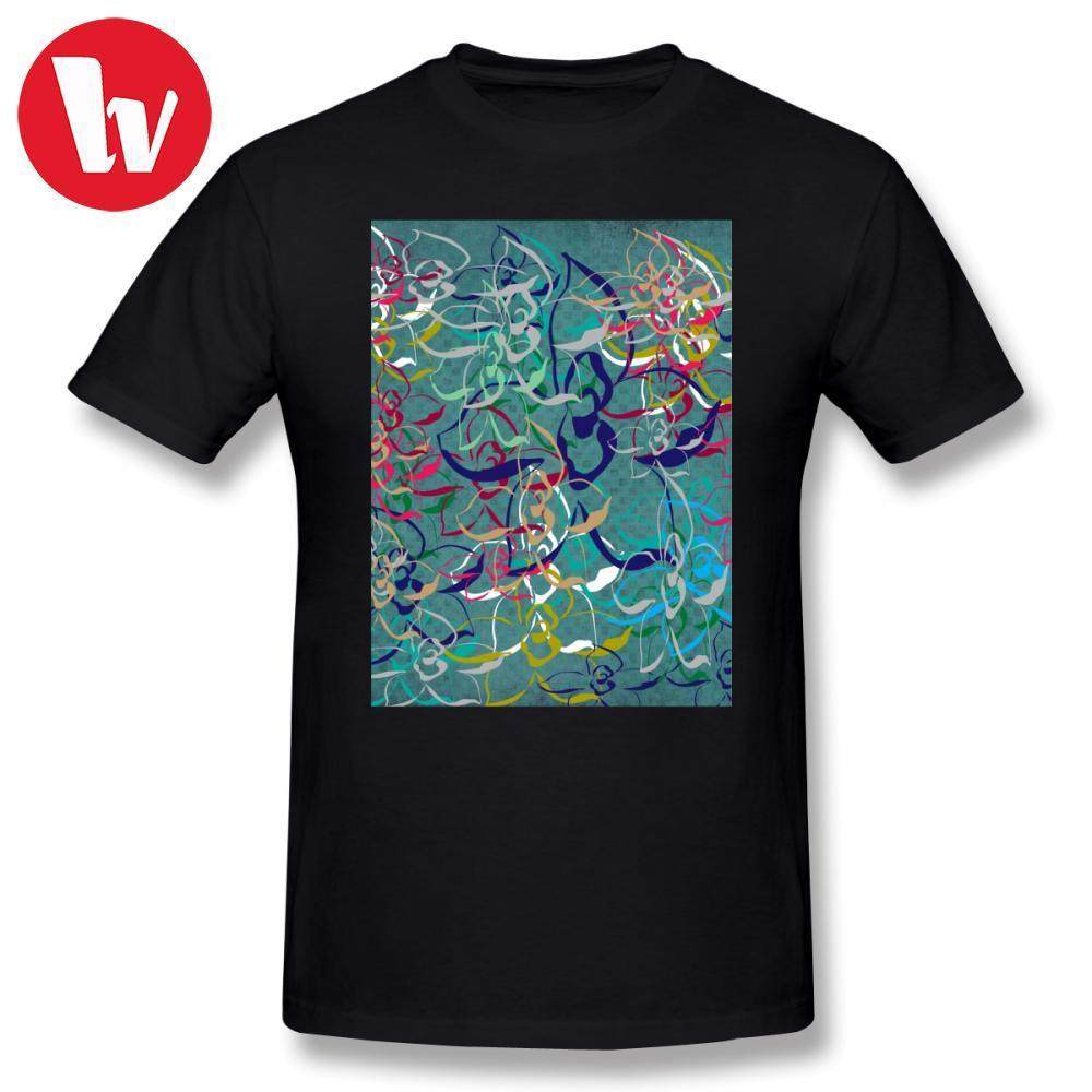 b277e6c04 Sublimation Tee Shirt Floral Teal D T Shirt Men Colorful Print Funny Tee  Shirt Awesome Male Cotton T Shirts Graphic Tee Shirts T Shirts Deals Super  Cool T ...