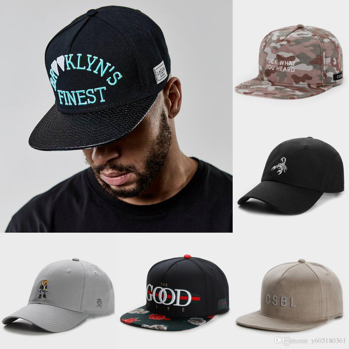 39b35343d High Quality Men Women Snapback Caps Hip-hop Hat Youth Cap Basketball Snapbacks  Hats Cayler And Sons Corner Gray Casual Baseball Cap 6 Style Mens Hats ...