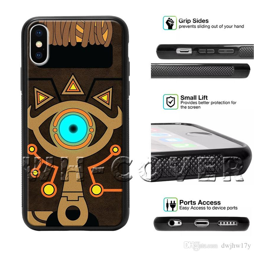 the best attitude 5facb 5bbc8 The Legend Of Zelda Triforce Sword Breath of the Wild Faux link Phone Case  For iPhone iX i8 i8Plus i7 i7 i6 i6s SE T6 Cover