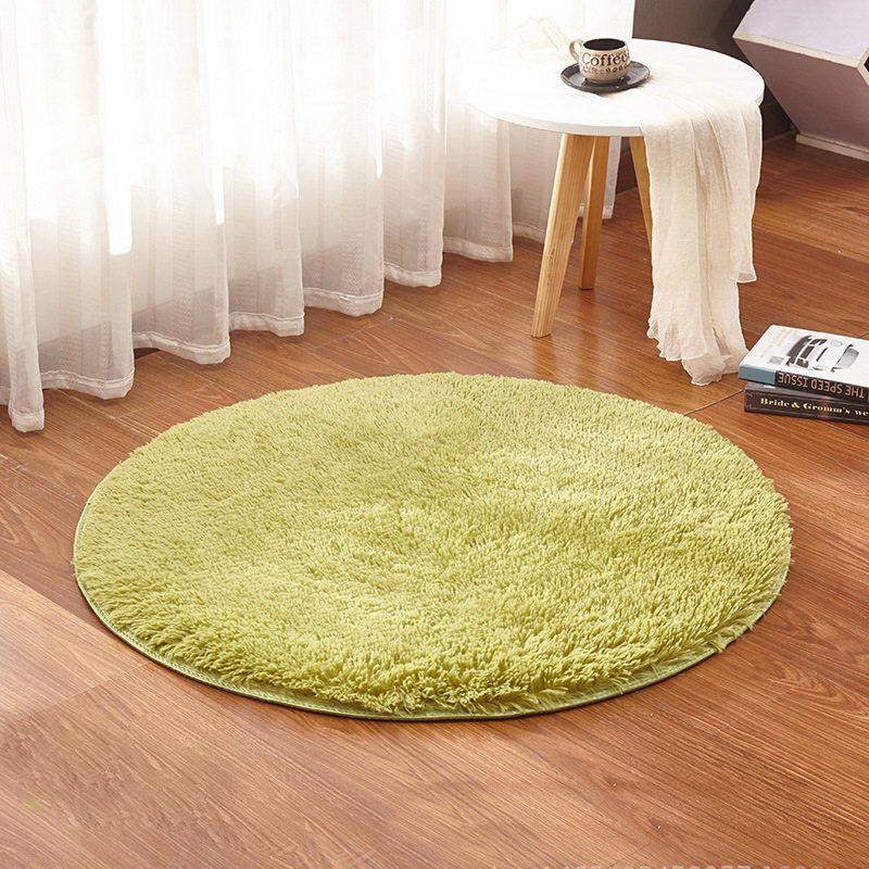 Grosshandel Grass Green Round Rug Teppiche Yoga Wohnzimmer Teppich