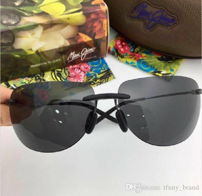 edb71803d6d Cheap Half Framed Sunglasses Men Style Best Large Frameless Mirrors