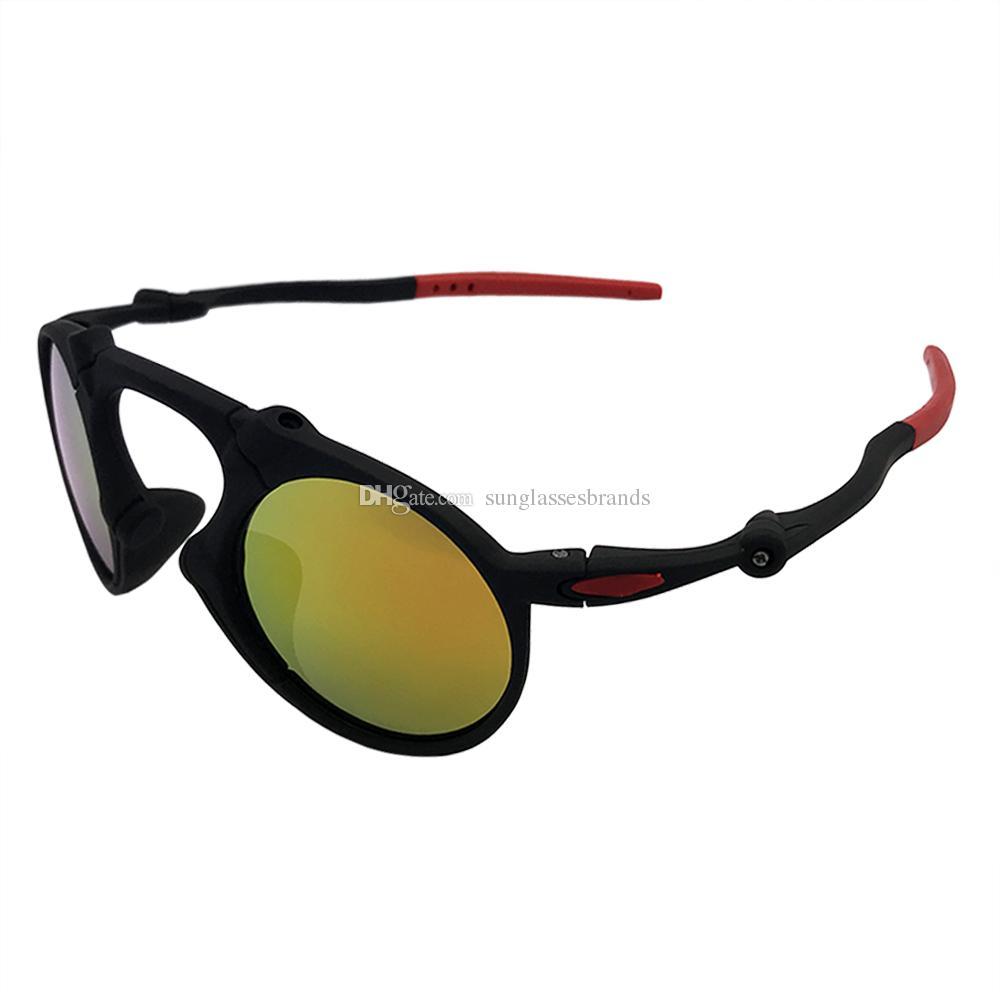 bcd48645c4e85 Compre Designer De Óculos De Sol O 6019 Mado Homem Dark Carbon Prizm Daily  Black Frame Iridium Fire Mirror Lens Frete Grátis OK81 De Sunglassesbrands