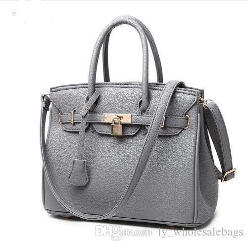 fed7455d3f Flyone Brand Female Models Bag New Popular Female Lychee Pattern ...