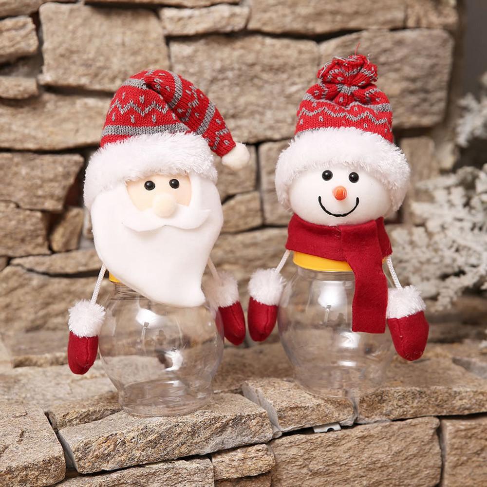 Buon Natale Bambini.Acquista Buon Natale Bambini Babbo Natale Pupazzo Di Neve Alci Candy