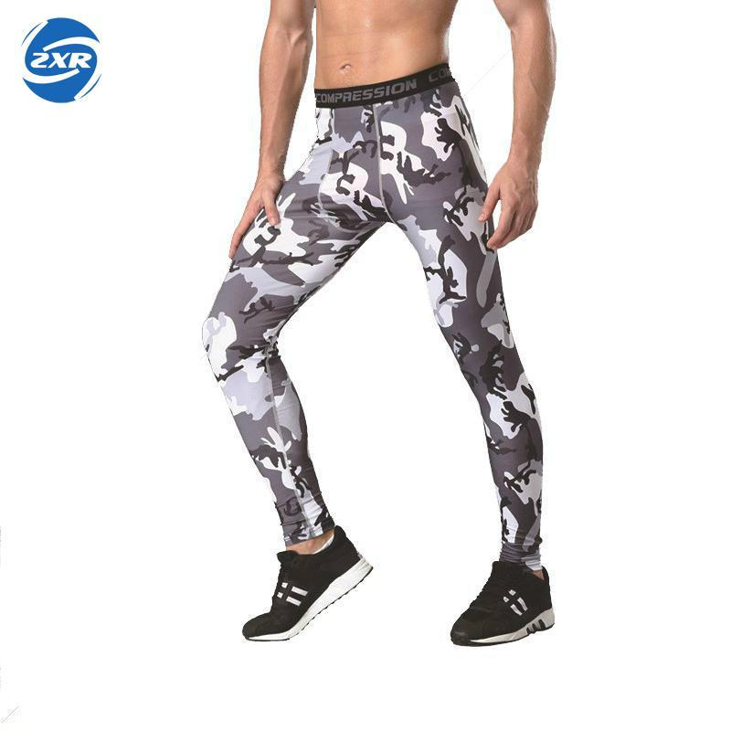 40d028af21b51 2019 New Men Camouflage Compression Tights Leggings Running Sports Gym Male  Trousers Capris Of Fitness Pants Of Quick Drying From Mangosteeng, ...
