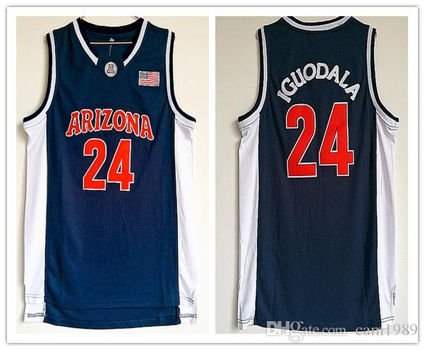 2018 Arizona Wildcats College  24 Andre Iguodala Basketball Jerseys ... a66118715