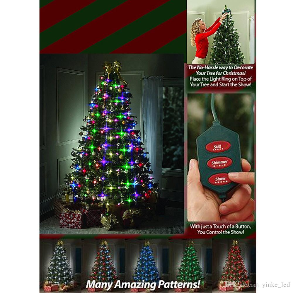 christmas led strings lights bulbs star 48 64leds led string redgreenrgb fairy light party xmas christmas tree garden twinkle lights heart string lights - Best Way To String Lights On A Christmas Tree