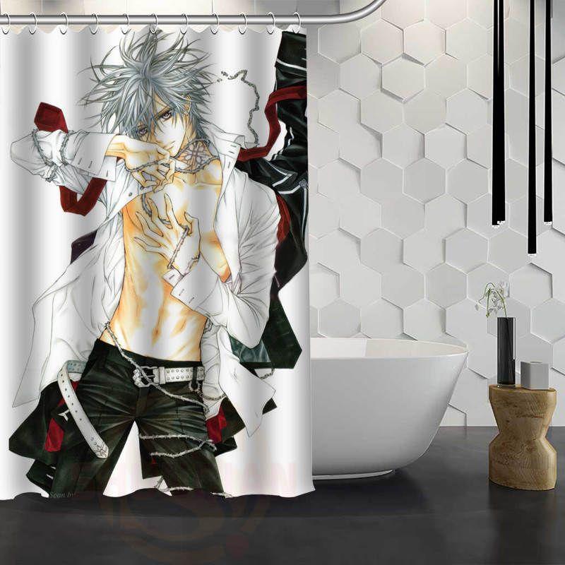 2019 Hot Sale Custom Anime Boy Shower Curtain Waterproof Fabric Bath For Bathroom FY1 17 From Amaryllier 284