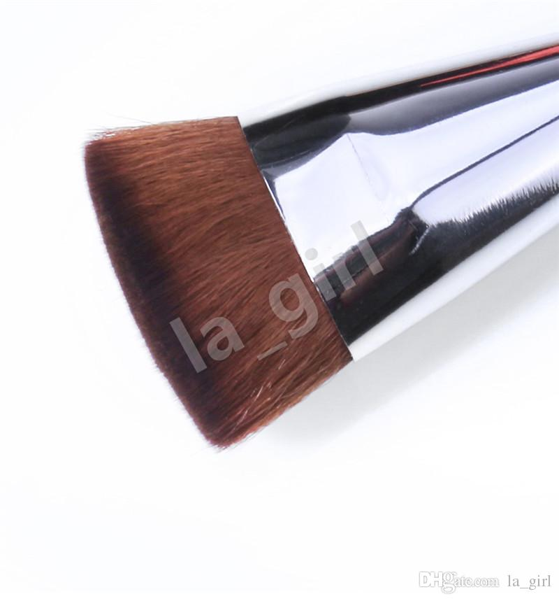 O.TWO.O Foundation Makeup Brushes Flat Top Kabuki for Blending Liquid Cream Mineral Powder Buffing Stippling Concealer Cosmetics Tool