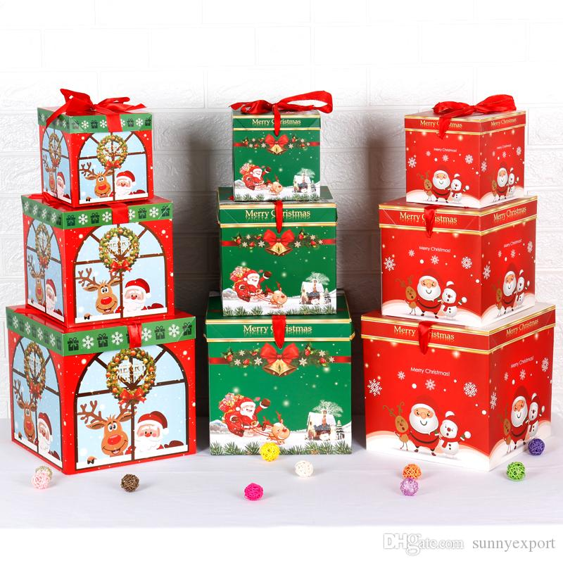 Beautiful Christmas Gift Box For Christmas Decorations Christmas ...