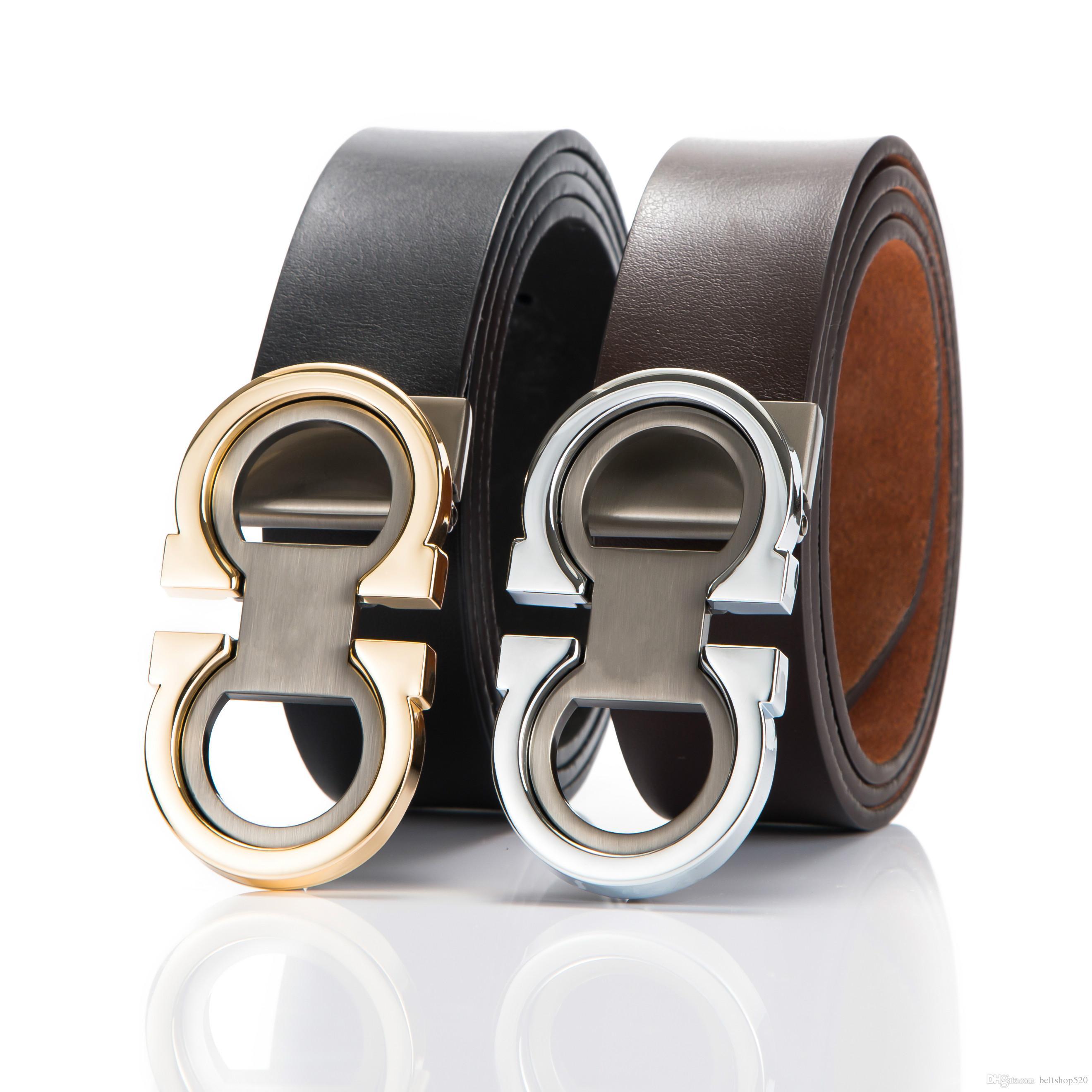 e1b467d645124 Ceinture de marque ceintures de luxe véritables Lesther pour hommes grande  boucle Waitband top qualité mode hommes en cuir ceintures marque hommes ...