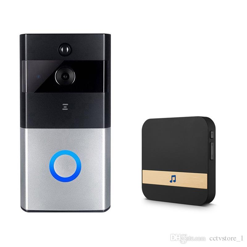 Smart IP Video Intercom WI-FI Video Door Phone Door Timbre WIFI Timbre de la cámara Para Apartamentos IR Alarma Cámara de seguridad inalámbrica