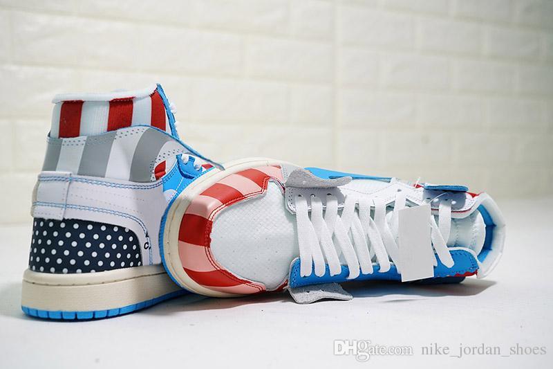 2f245e84422 2018 Hot Netherland Designer Men Women Shoes Piet Parra X 1 White Multi  Rainbow Running Shoes Good Quality 1s NRG Trainers Sports Sneakers Piet  Parra X 1 ...