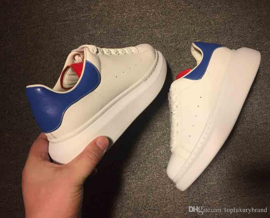 ca653f3054b 2019 Luxury Designer Men Casual Shoes Cheap Best Top Quality Mens ...
