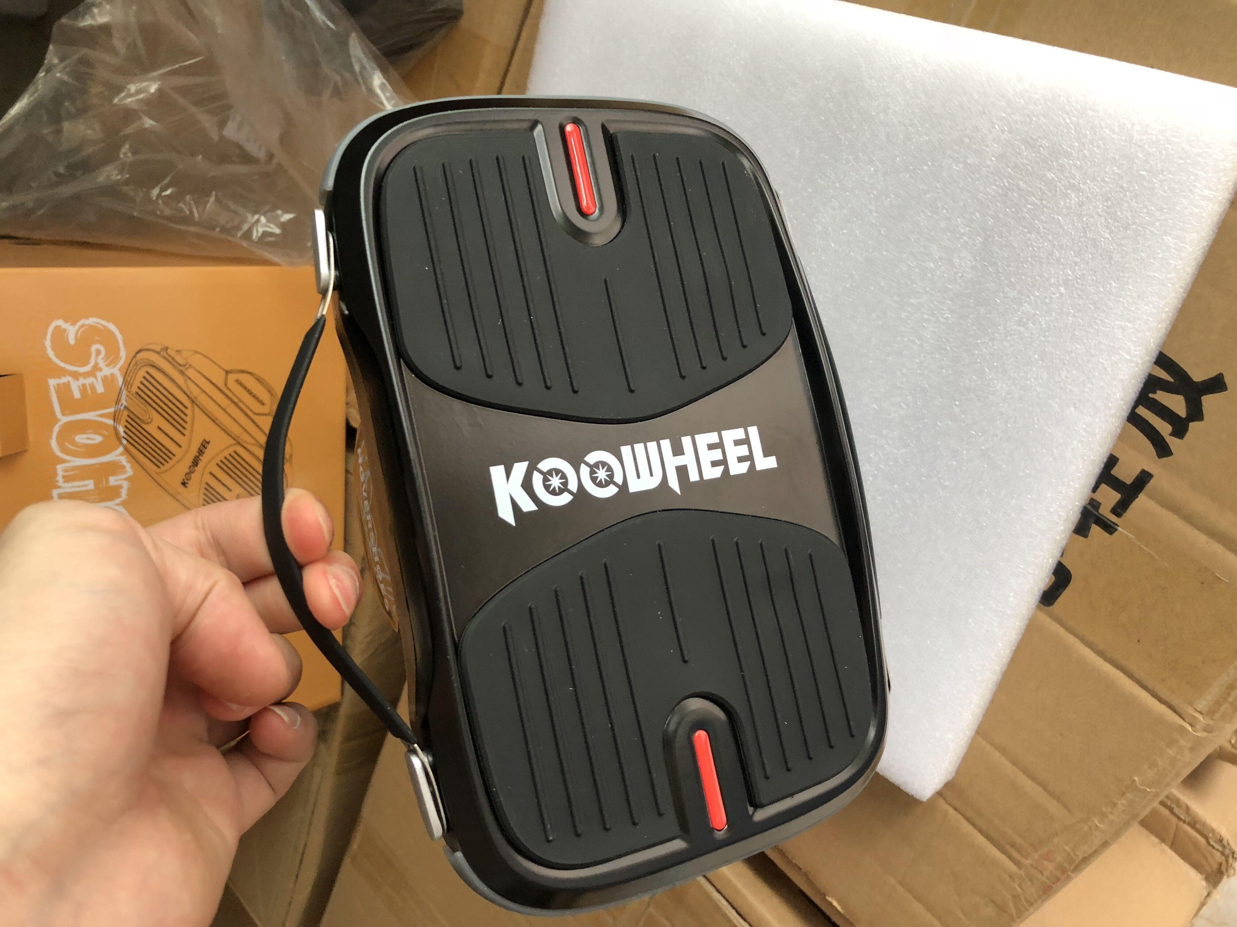 2018 Newest Koowheel Hovershoes 35 Inch Solid Rubber Tire E Wheel Coilless Fm Transmitter Skateboard In Stock For Wholesale Koowwheel