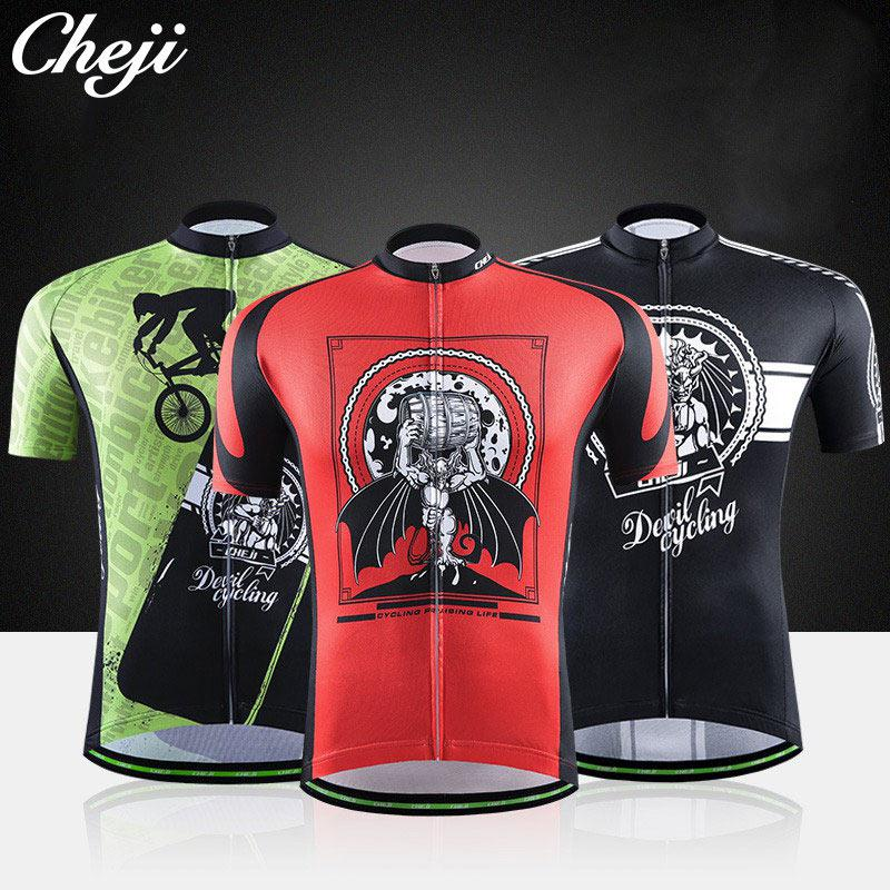 2c02e7c2a Men s Beer Cycling Jersey Reflective CHEJI Mtb Bike Bicycle Clothing ...