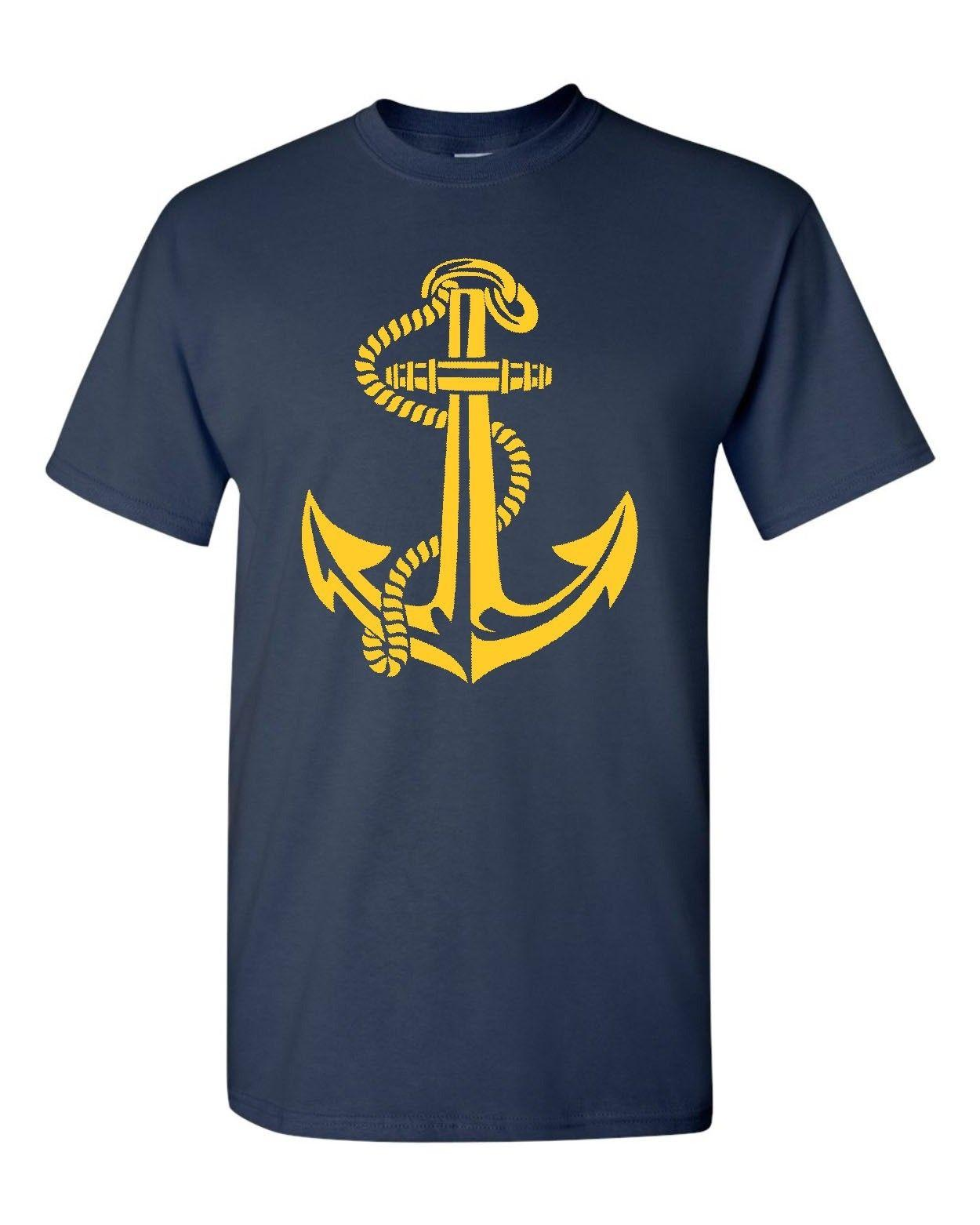 a5528332 Anchor US Navy Men's Tee Shirt 1812 Funny free shipping Unisex Casual tee  gift