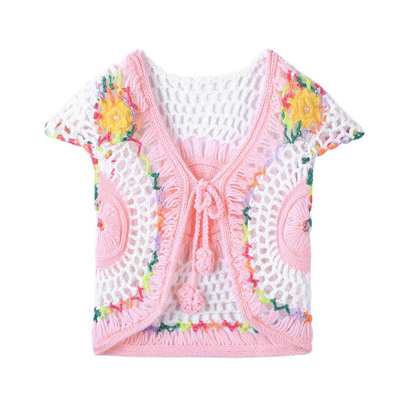 2018 Spring And Summer New Babys Sweater Vest Babys Coat Handmade