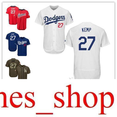2019 2019 Men Women Youth Kids Dodgers Jerseys 27 Kemp Baseball Jerseys  White Blue Green Salute To Service Players Weekend All Star From  James shop e2afd43c0a4