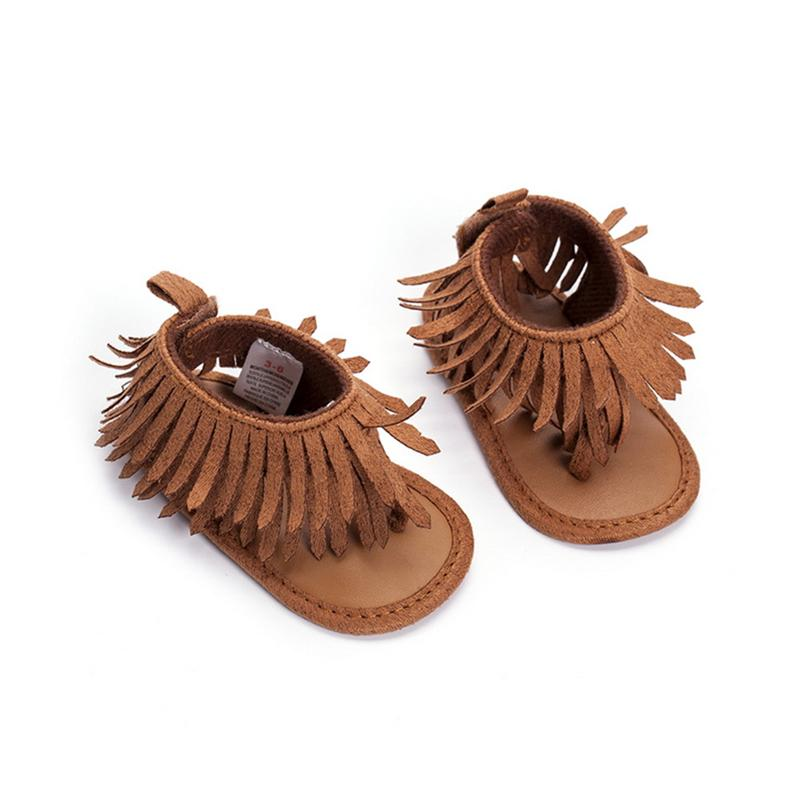 official photos fbdfc 40b1b Fashion Baby Boys Girls Leather Sandals Fringe Shoes Toddler Infants Sizes  0 12M Sneakers For Toddler Boys Cheap Shoes Online For Kids From Redeye, ...