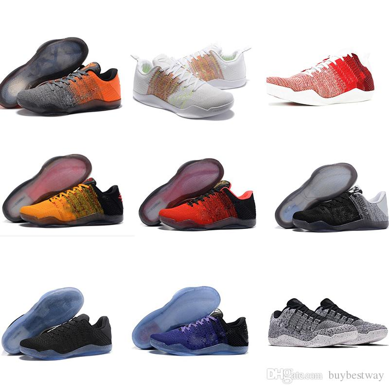 fe2f76a5b16 2019 Kobe 11 Elite Men Basketball Shoes Kobe 11 Red Horse Oreo Sneakers KB 11  Sports Sneakers With Shoes Box Xz102 From Buybestway
