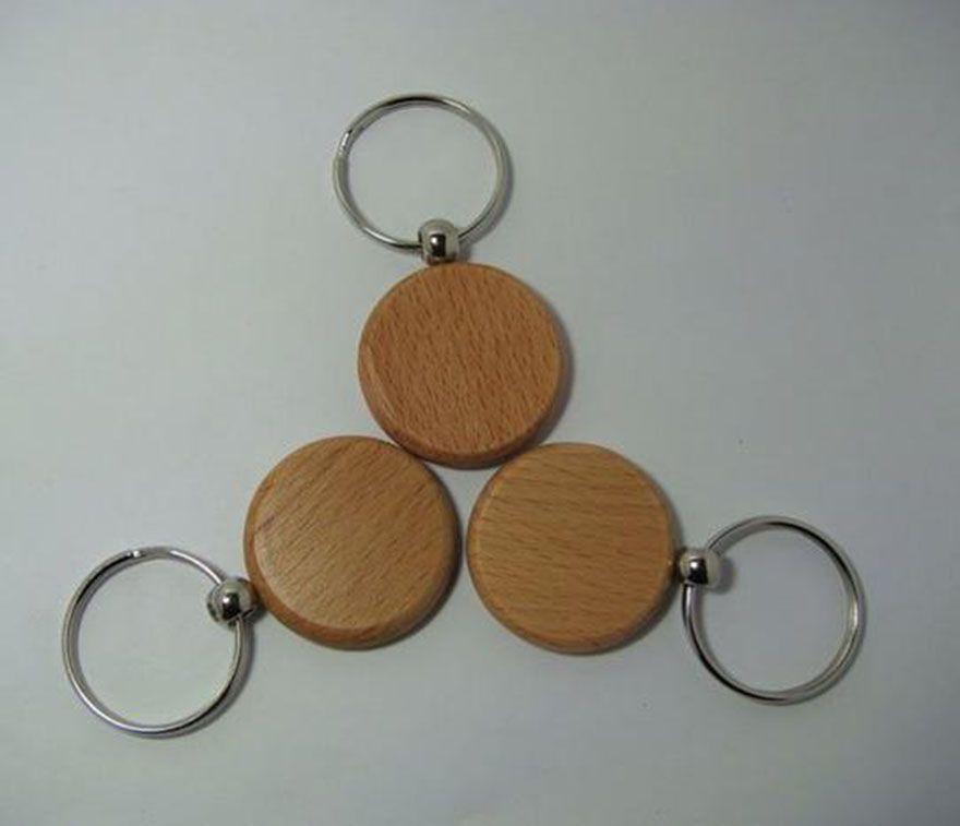 Atacado--Blank-Wooden-Key-Cadeia-DIY-Promoção-Customized-Key-Tags-brinde promocional