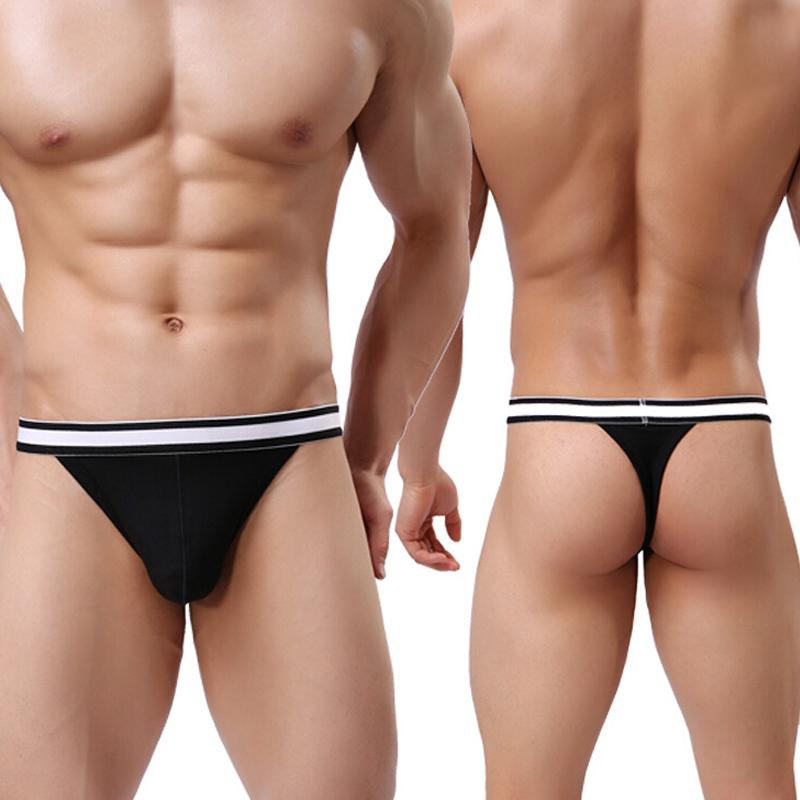 14abca522 Sexy Underwear Men Lingerie Thong Pants Mens G-Strings   Thongs ...