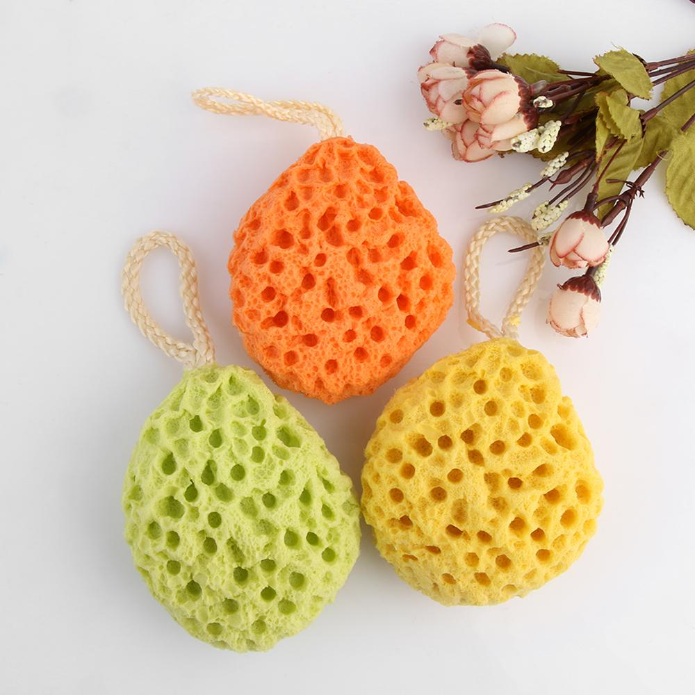 2018 Random Color!shower Sponge Spa Bath Cleaning Ball Brush ...