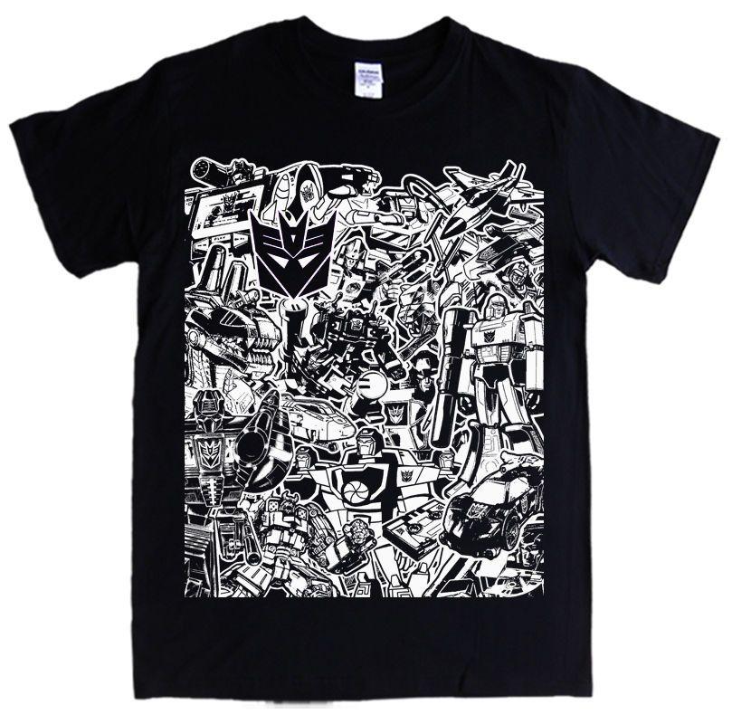 548a271ad8ee DECEPTICONS T Shirt S 5XL TRANSFORMERS Logo Symbol Megatron Ravage  Starscream T Shirts Print Tees Online From Bstdhgate03, $11.01| DHgate.Com