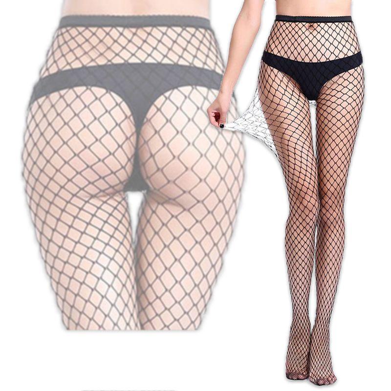 a0702da478815 2019 2018 Sexy Fishnet Tights Women Fishnet Tights Mesh Black Stockings  Sexy Pantyhose Women Lingerie Thigh High Nylon Stockings From Blairi, ...