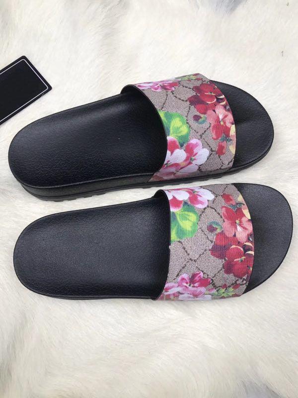 fa8dabf886e59 Designer Slippers Slide Ladies Flip Flops 2018 Tiger Fashion Animals Flower  Print Luxury Shoes PANDOFOL Women Slipper Online with  57.15 Piece on ...