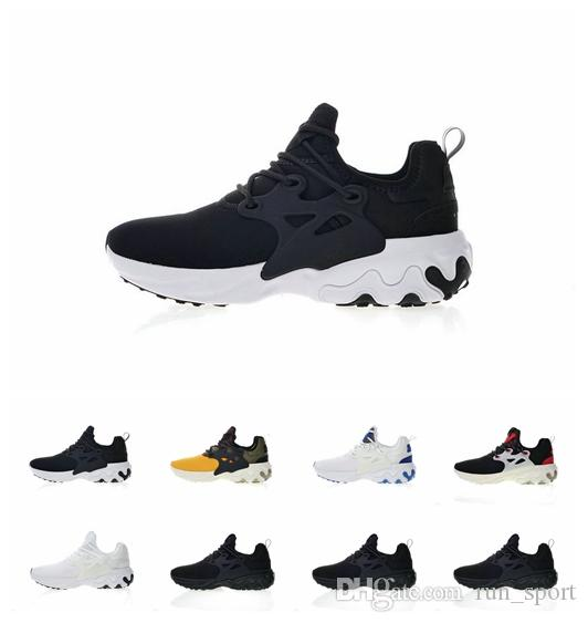 09354af24179 Wholesale 2019 New 19SS Epic React Presto React Element 87 Running Shoes Men  Designer Prestos Fly Chaussures Cusual Sport Mens Sneakers Womens Running  ...