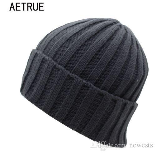 b07de3d6001ae 2019 Arrival Beanies Women Knitted Hat Men Winter Hats For Women Bonnet  Caps Gorros Brand Warm Moto Wool Touca Winter Beanie Hat From Newests