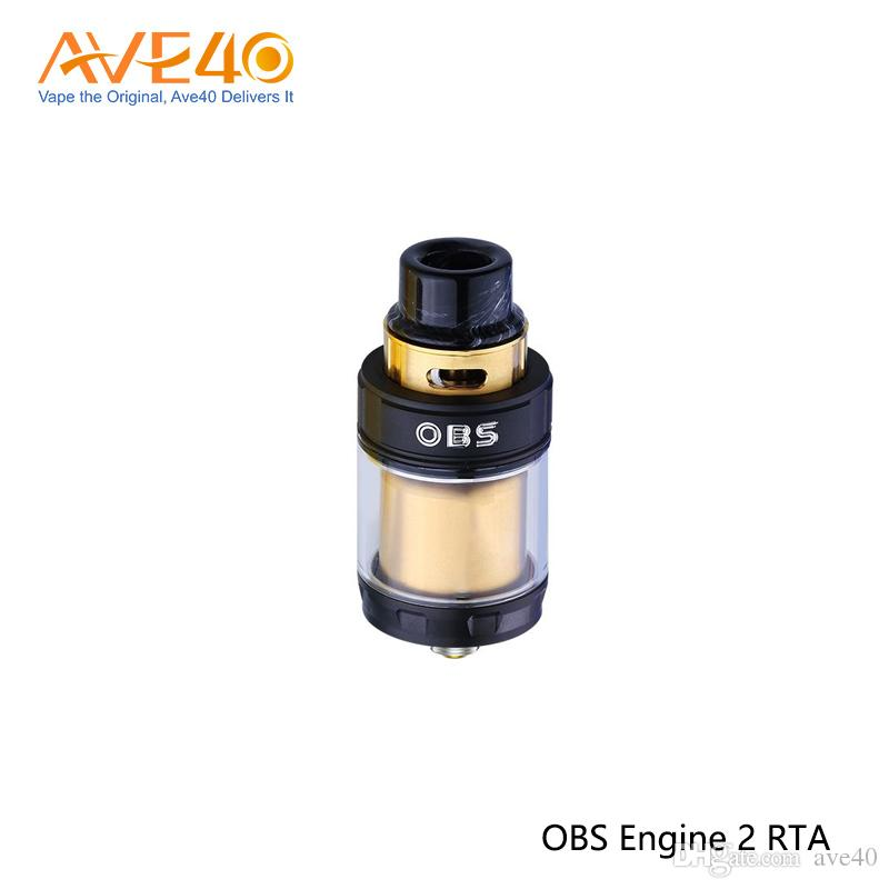 Original OBS Engine II RTA Tank 5ml Top Side Filling Super Dual Coil RTA Without Leakage