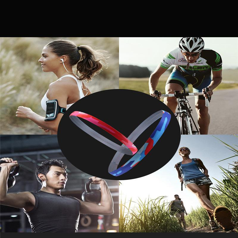 2d0d601e437 2019 Women Men Yoga Hair Bands Sports Headband Anti Slip Elastic ...