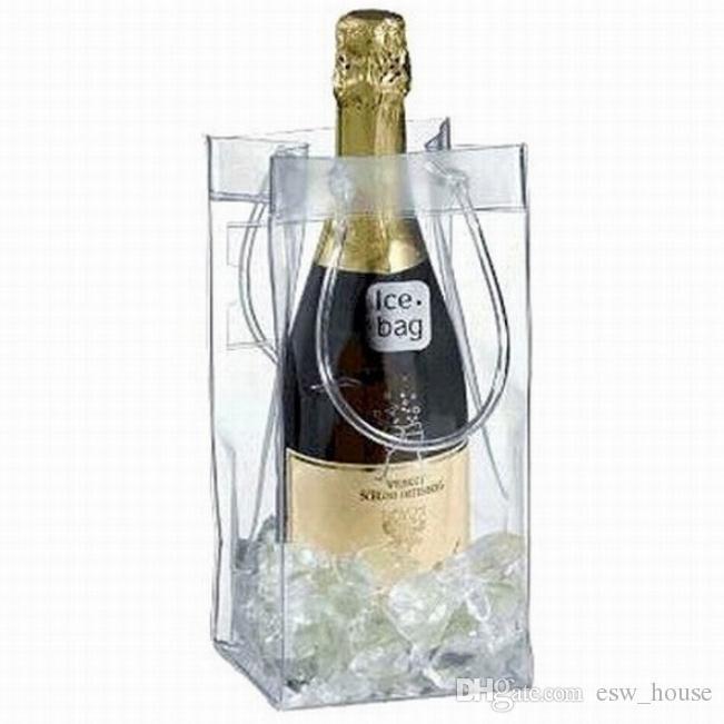 كيس هدية النبيذ البيرة الشمبانيا دلو الشراب كيس الثلج زجاجة برودة مبرد طوي الناقل صالح حقائب هدية مهرجان