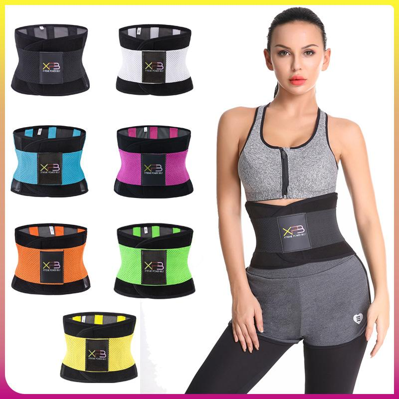 da4f1e90806f3 2019 Spandex Xtreme Power Belt High Elastic Fitness Hot Belt Slimming  Thermo Shaper Waist Trainer Cincher For Workout Women From Eventswedding