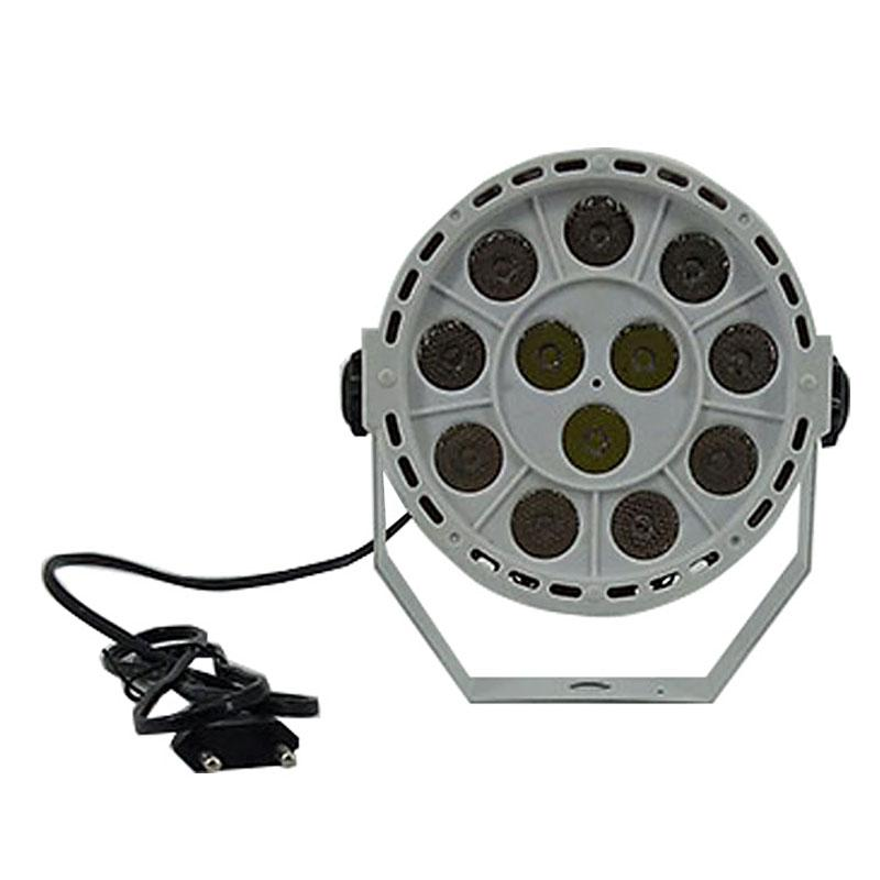 LED Flat Par 12x3W Violet Color Lighting LED Stage Light Par With DMX512 for disco DJ projecto Party Decoration