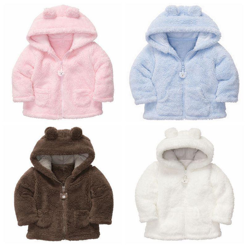 95560ed4d Hot Newborn Clothing Boys Girls Fall   Winter Baby Fashion Coats ...